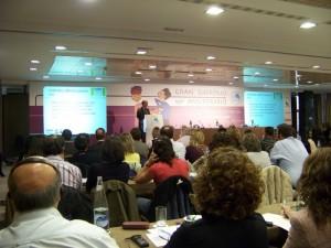 Un relatore al Gran Simposio sul diabete di Madrid