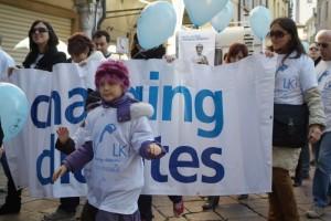 La camminata per il diabete a Mantova