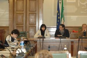 Simone e Patrizia parlano al Consiglio Provinciale di Mantova
