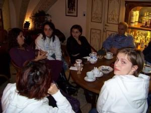 Cecilia ed alcuni ragazzi dell'Italian Youth Panel