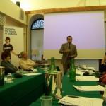 Il giornalista Franco Di Mare parla allo Youth Panel