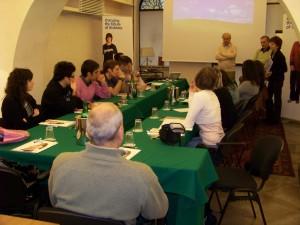 Il board dello Youth Panel illustra il progetto del corso a Roma