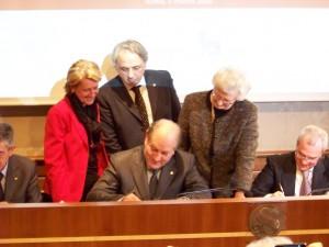 Quattro parlamentari firmano il Protocollo d'Intesa sul diabete