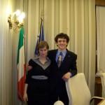 Simone Donadello e Cecilia Cacciatori in Commissione del Senato