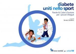 Copertina del libro dell'Unicef sul diabete