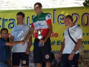 Podio del Campionato per Ciclisti con Diabete 2009