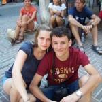 Simone e Cecilia al Campionato di Ciclismo e Diabete