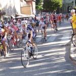 Volata tra alcuni ciclisti con diabete al Campionato di Urbino